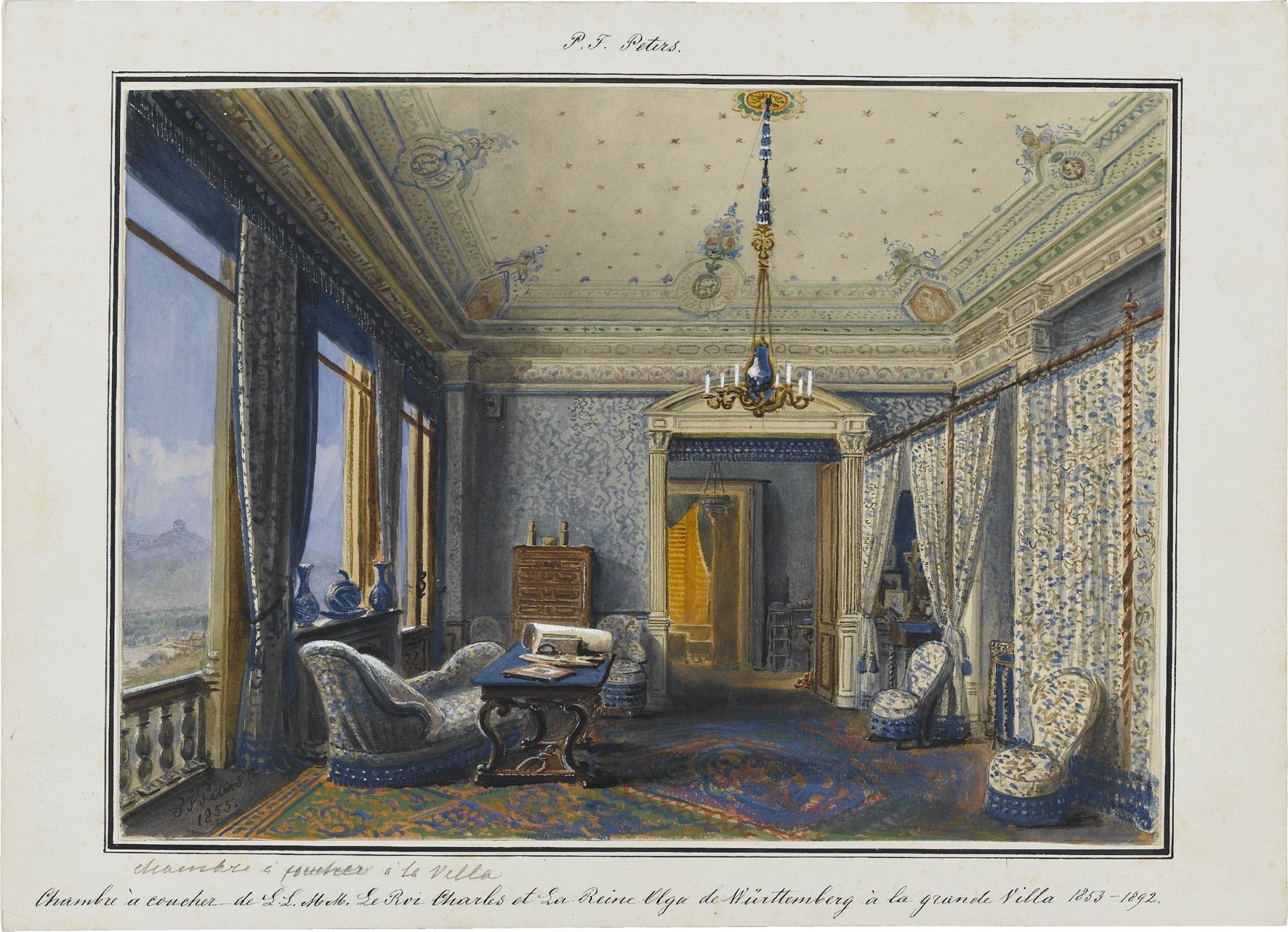 Fesselnd Abb. 14 Pieter Francis Peters (1818u20131903) »Chambre à Coucher De
