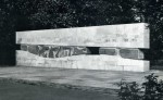 So zeigte sich die Skulptur im Originalzustand; um 1962. (Foto: Sammlung Gohl)